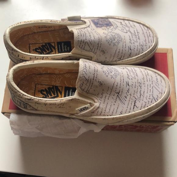 0e02984676 Women s Vans Van Gogh SlipOns